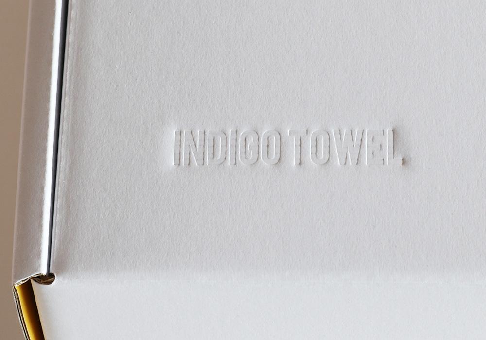 INDIGO TOWEL SETのパッケージ例02