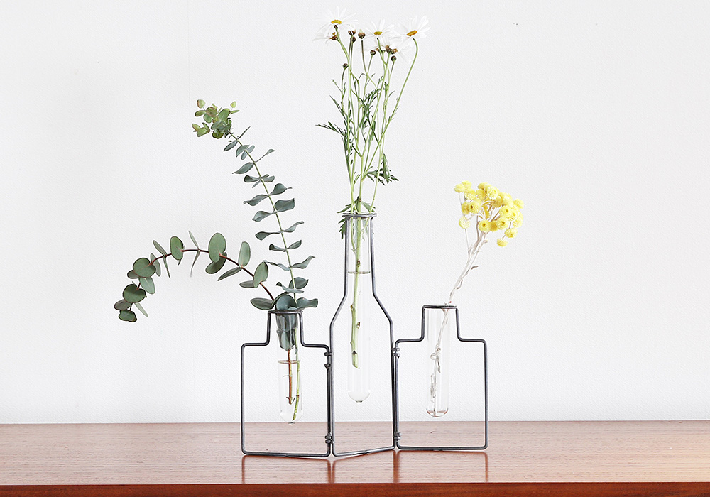 STABLE WIRE VASE3/MAT