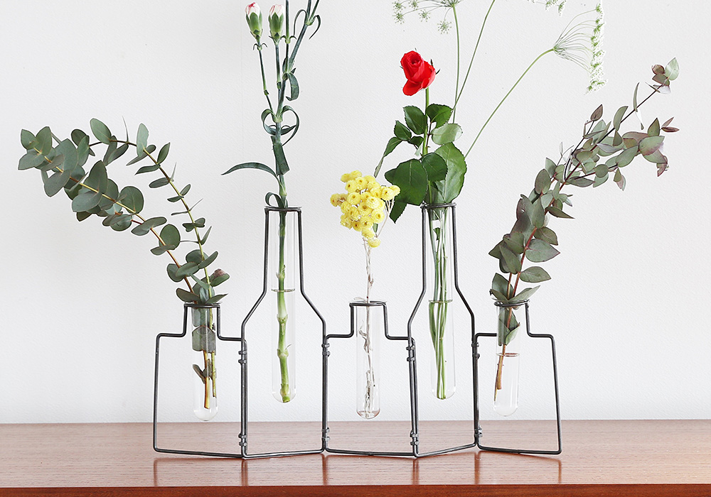 STABLE WIRE VASE5/MAT