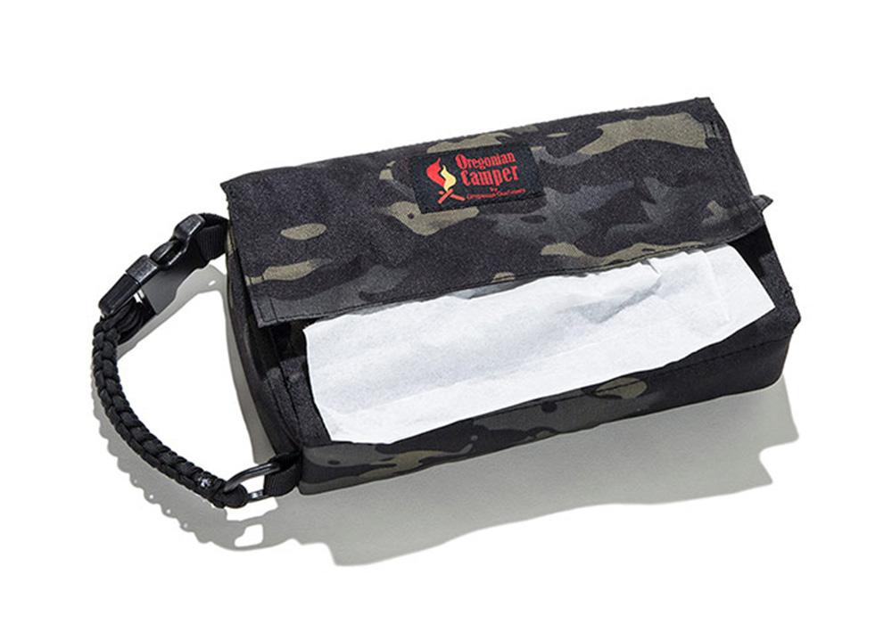 Box Tissue Case(ボックスティッシュ ケース)ブラックカモのイメージ写真