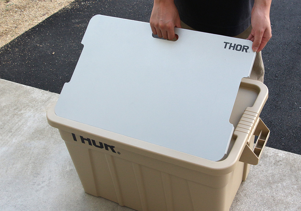 Bridge Board For Thor Large Totes 53L and 75L(ブリッジボード フォー ソー ラージトート 53L アンド 75L)Silverのイメージ写真03
