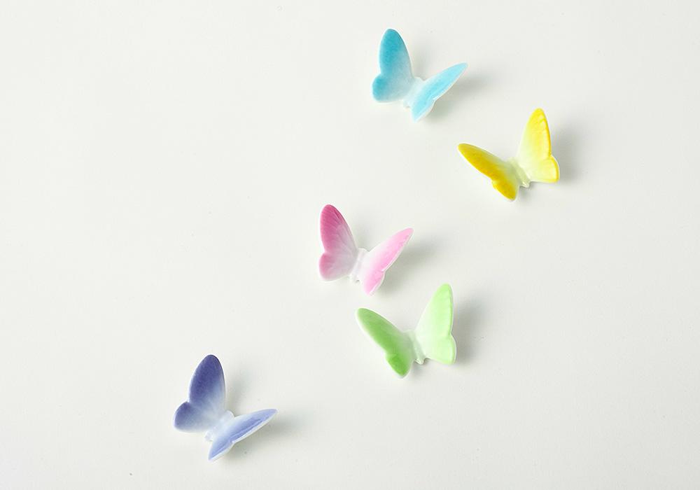 Butterfly 箸置き 5pcsのイメージ写真02