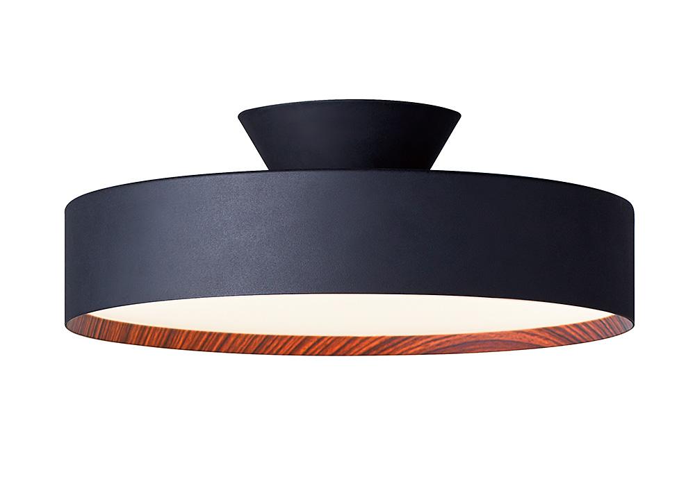 Glow LED-ceiling lamp(グロー LED シーリングランプ)BK/LWのイメージ写真