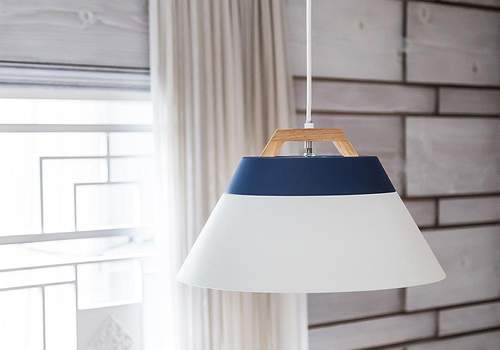 LAMP by 2TONE 3BLUB PENDANT LIGHTのイメージ写真01