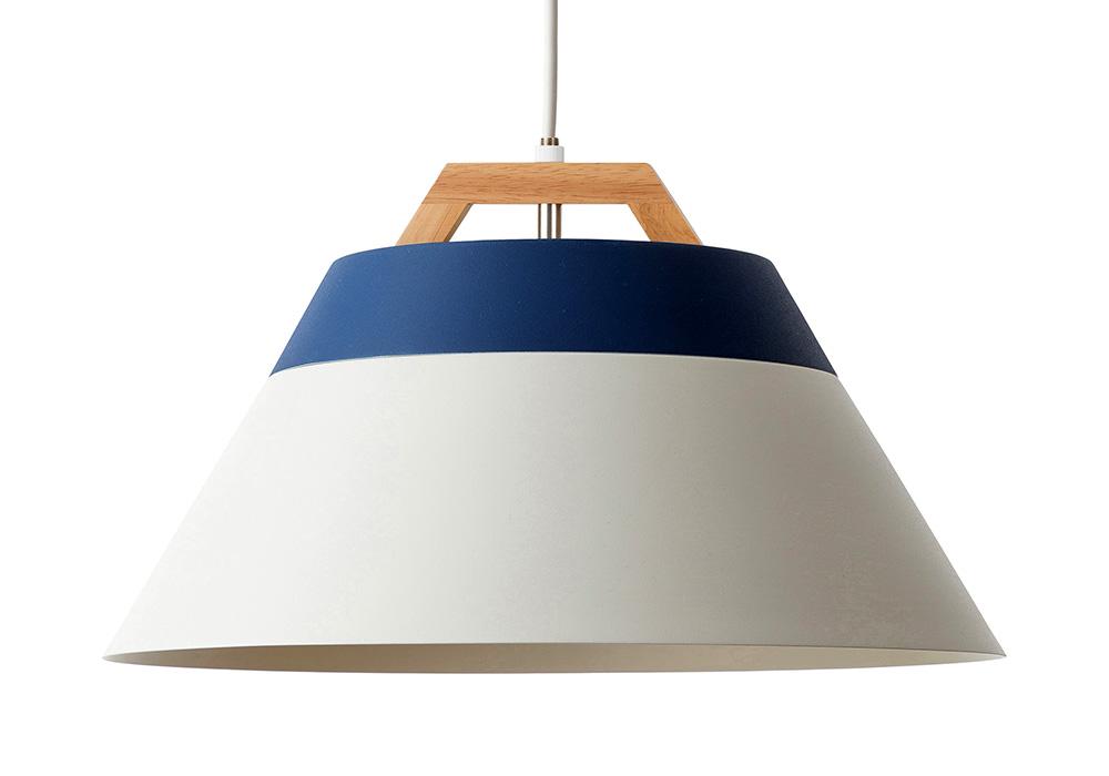 LAMP by 2TONE 3BLUB PENDANT LIGHT NAVY