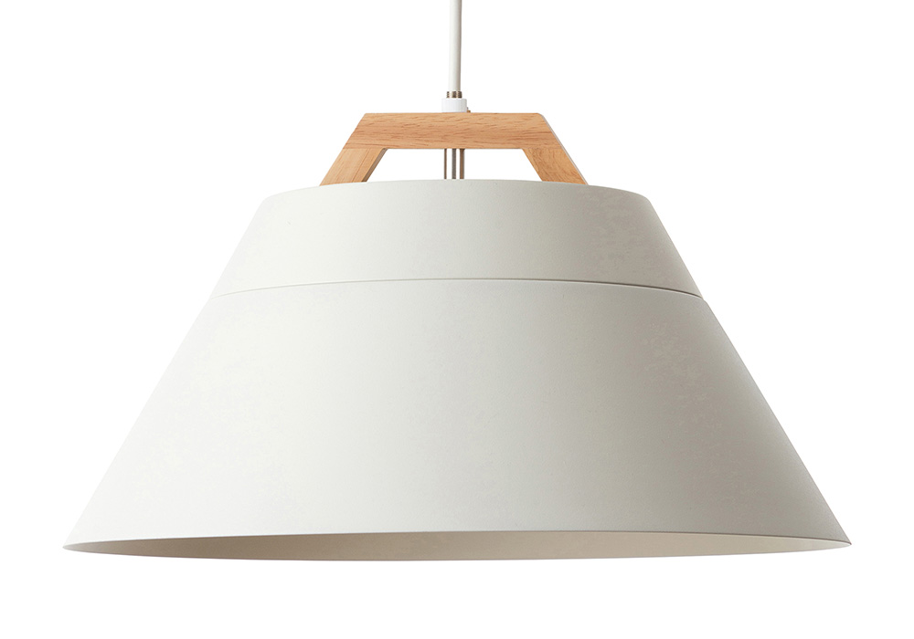 LAMP by 2TONE 3BLUB PENDANT LIGHT WHITE
