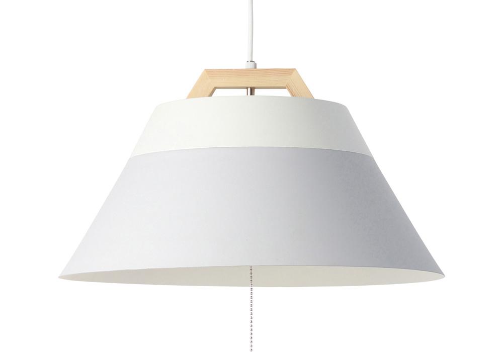 LAMP by 2TONE 3BLUB PENDANT LIGHT GRAY