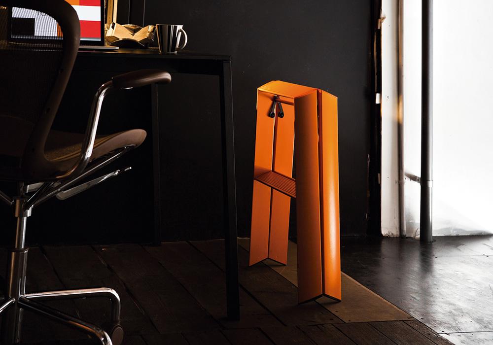 lucano Step stool(ルカーノ ステップスツール)ホワイトのイメージ写真02