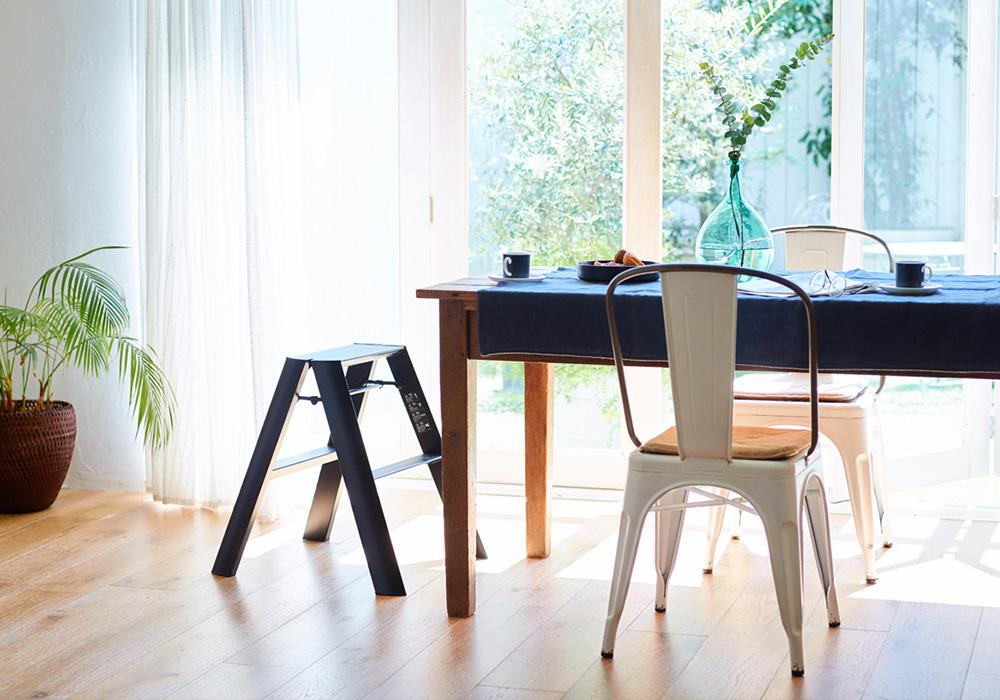 lucano Step stool(ルカーノ ステップスツール)ホワイトのイメージ写真03
