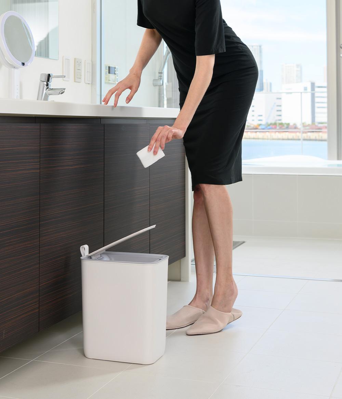 MORANDI SMART SENSOR BIN(モランディ プラスチックセンサービン)のイメージ写真03