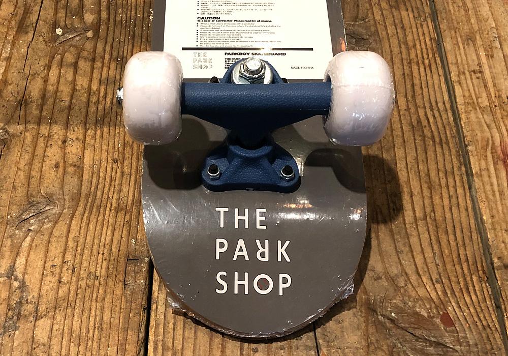 PARKBOY SKATEBOARD(パークボーイ スケートボード)WHITEのイメージ写真01
