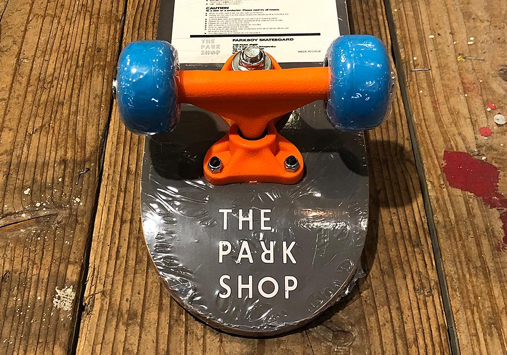 PARKBOY SKATEBOARD(パークボーイ スケートボード)BLUEのイメージ写真01