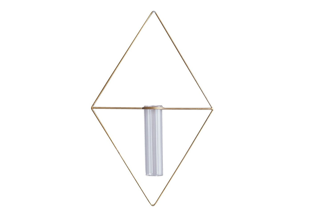 PIKE wall brass vase DIAMONDのイメージ写真