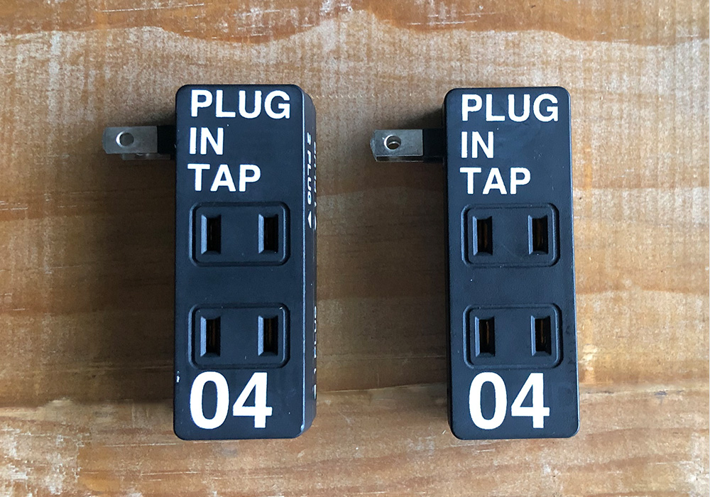 PLUG IN TAP_04 × 2SET(プラグインタップ 4個口2個セット)のイメージ写真02