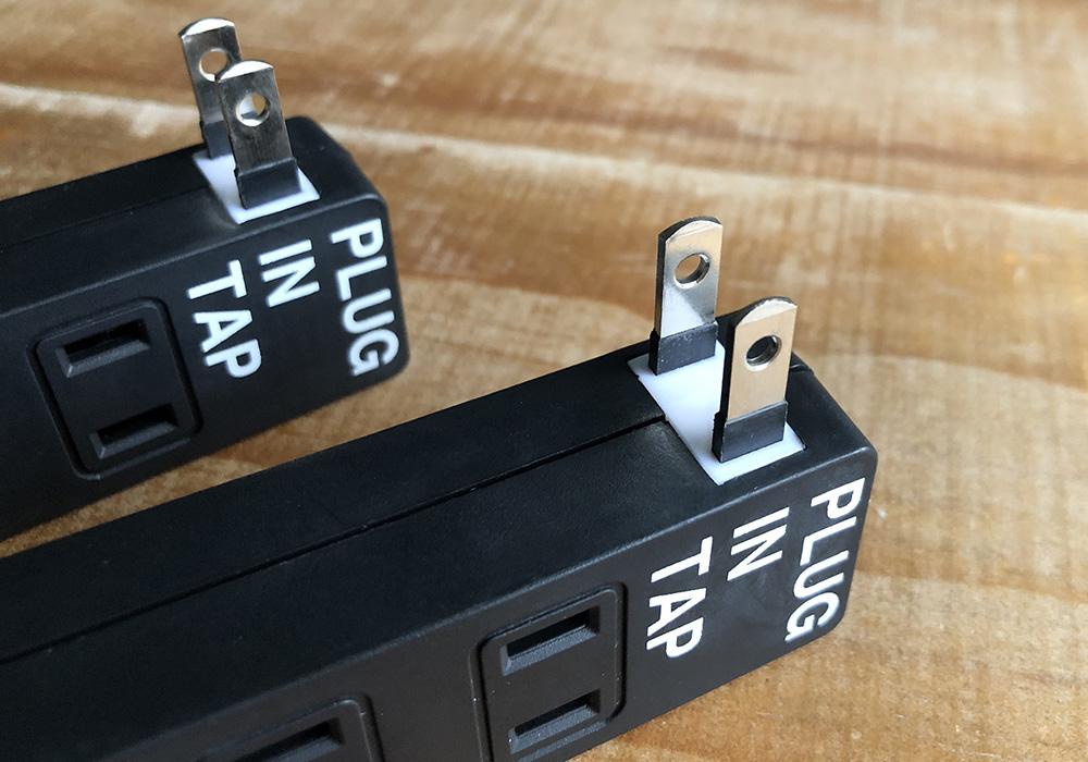 PLUG IN TAP_04 × 2SET(プラグインタップ 4個口2個セット)のイメージ写真04