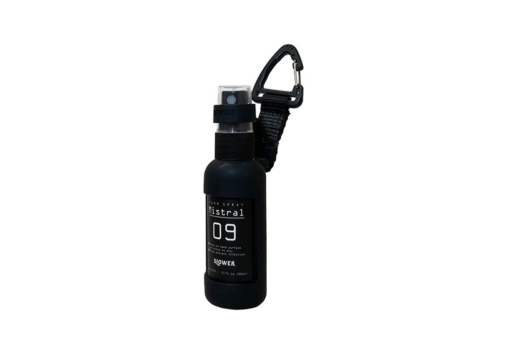 PUMP SPRAY BOTTLE Mistral(ポンプ スプレー ボトル ミストラル)BLACKのイメージ写真
