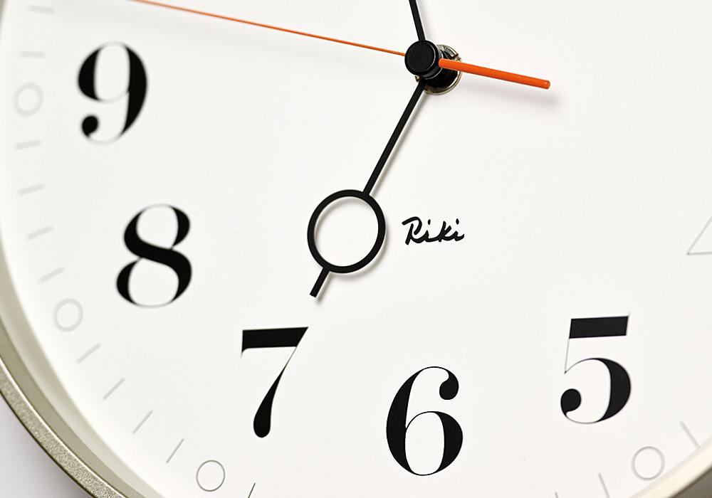 Lemnos RIKI RING CLOCK(リキ リング クロック)ホワイトのイメージ写真03