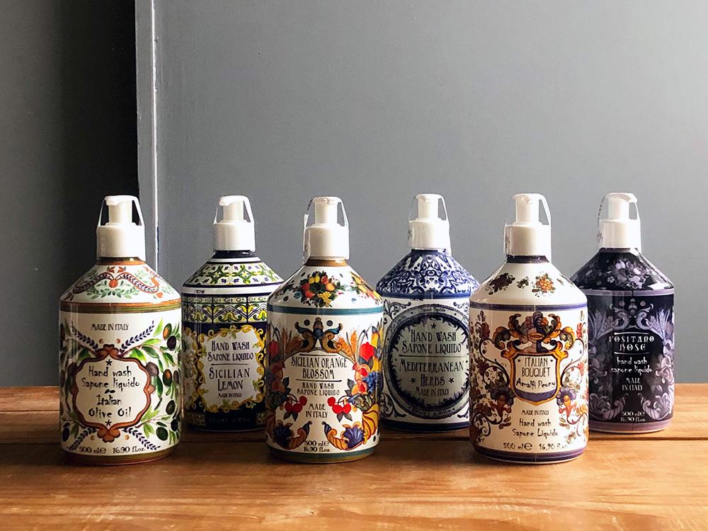 Rudy La Maioliche Liquid Soap(ルディ ラ・マヨルカ リキッドソープ)のイメージ写真01