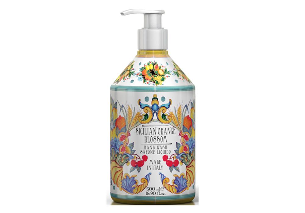 Rudy La Maioliche Liquid Soap(ルディ ラ・マヨルカ リキッドソープ)シチリアンオレンジブロッサムのイメージ写真