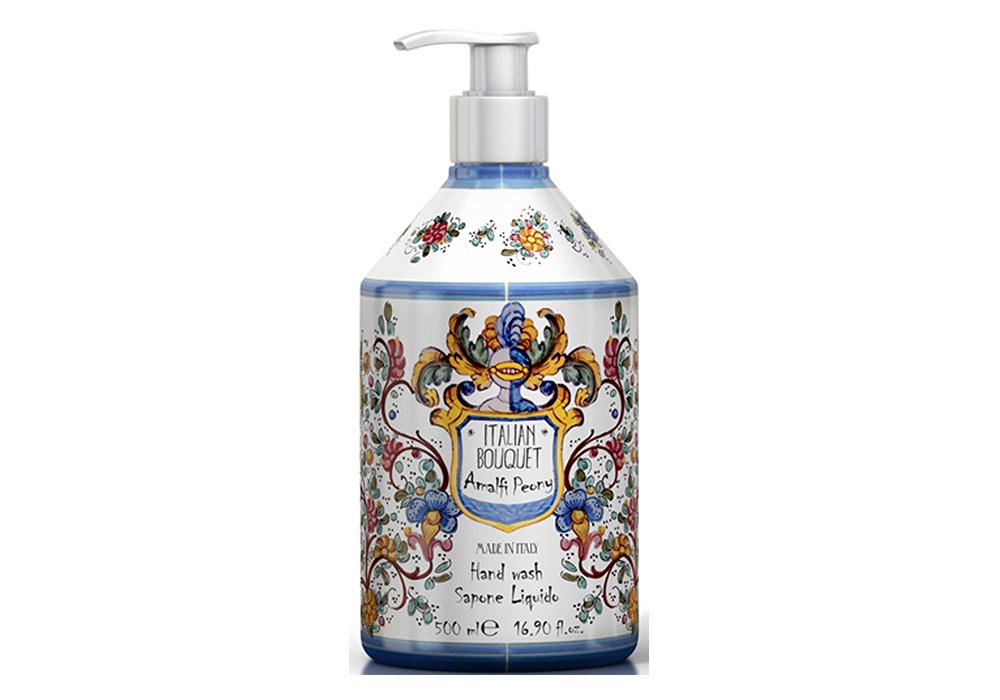 Rudy La Maioliche Liquid Soap(ルディ ラ・マヨルカ リキッドソープ)アマルフィピオニーのイメージ写真