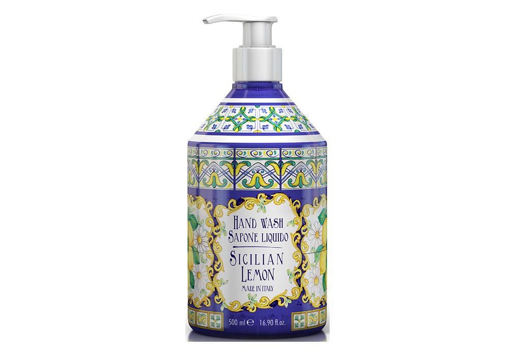 Rudy La Maioliche Liquid Soap(ルディ ラ・マヨルカ リキッドソープ)シチリアンレモンのイメージ写真
