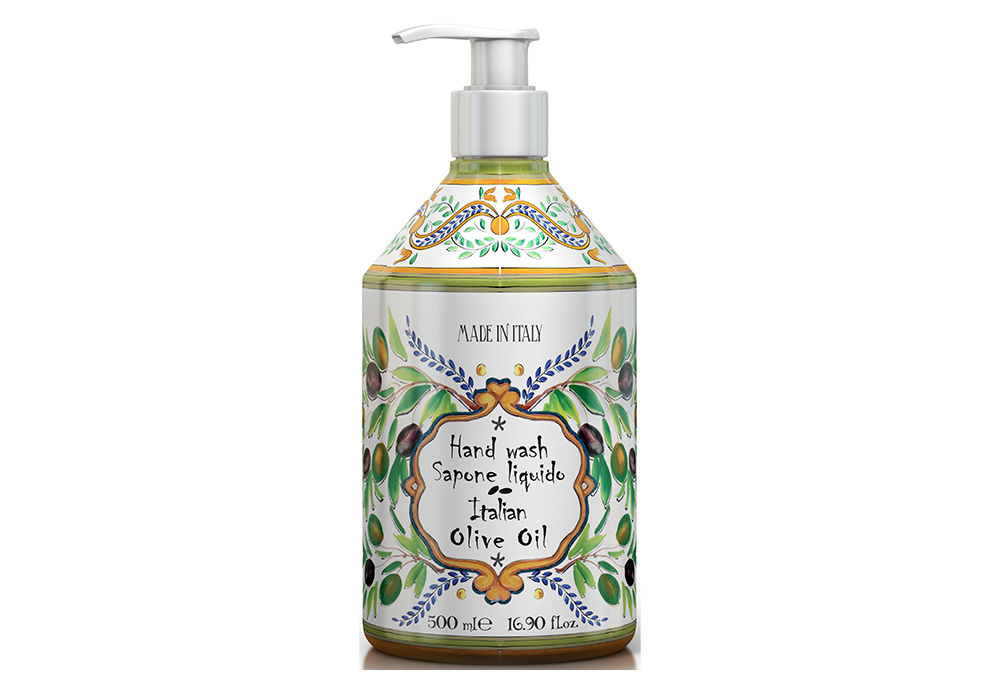 Rudy La Maioliche Liquid Soap(ルディ ラ・マヨルカ リキッドソープ)イタリアンオリーブオイルのイメージ写真
