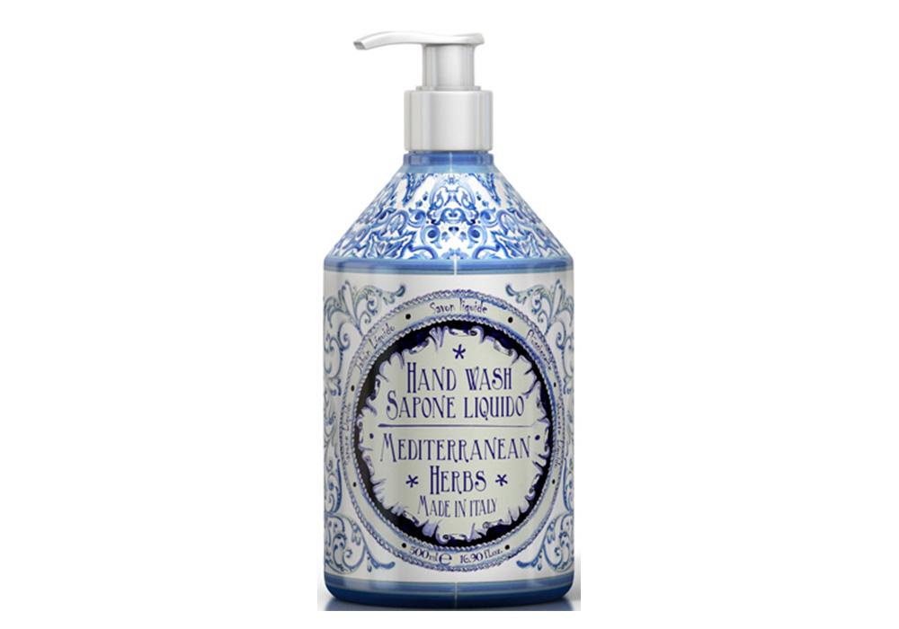 Rudy La Maioliche Liquid Soap(ルディ ラ・マヨルカ リキッドソープ)メディタラニアンハーブのイメージ写真