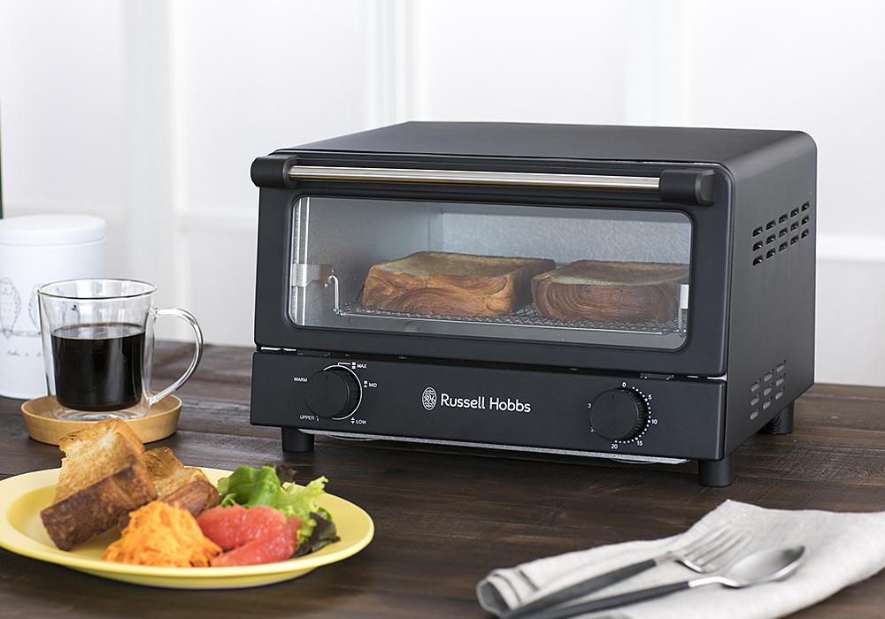 Russell Hobbs Oven Toaster(ラッセルホブス オーブントースター)マットブラックのイメージ写真01