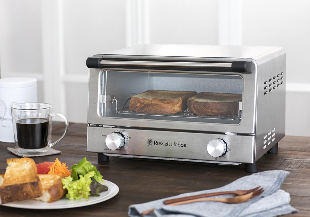 Russell Hobbs Oven Toaster(ラッセルホブス オーブントースター)シルバーのイメージ写真01