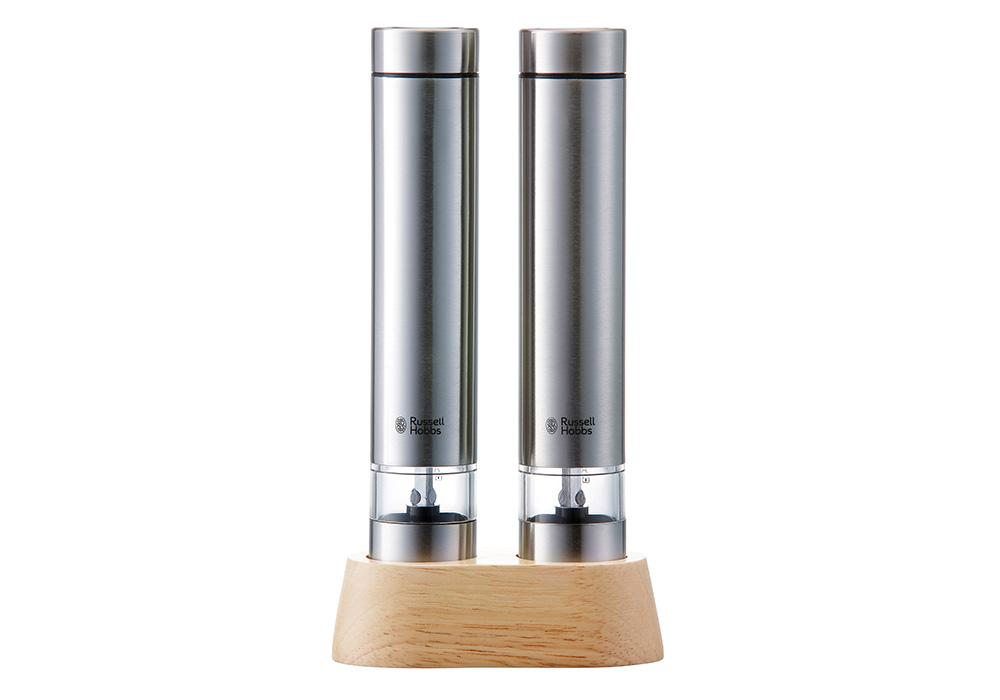 Russell Hobbs Salt & Pepper Mill Mini(ラッセルホブス ソルト&ペッパー ミニ)シルバーのイメージ写真02