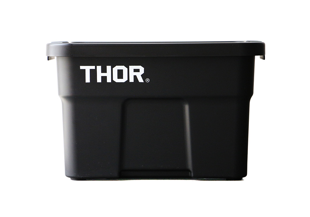 Thor Large Totes With Lid Blackのイメージ写真01