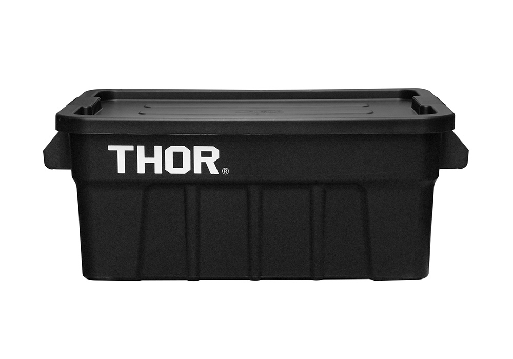 Thor Large Totes With Lid Blackのイメージ写真02