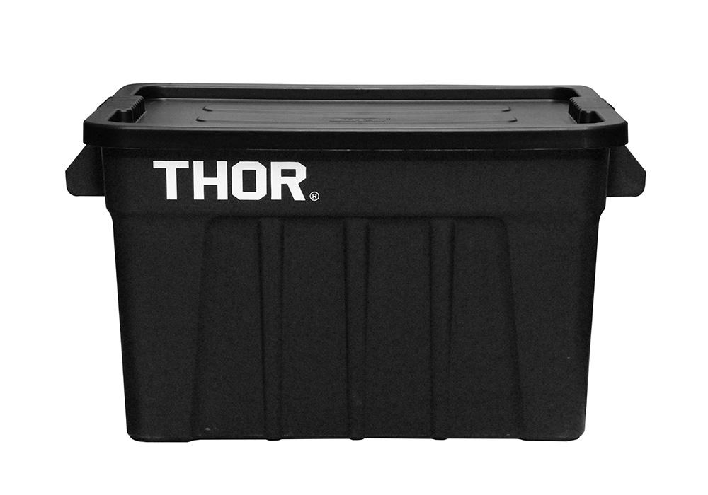 Thor Large Totes With Lid Blackのイメージ写真03