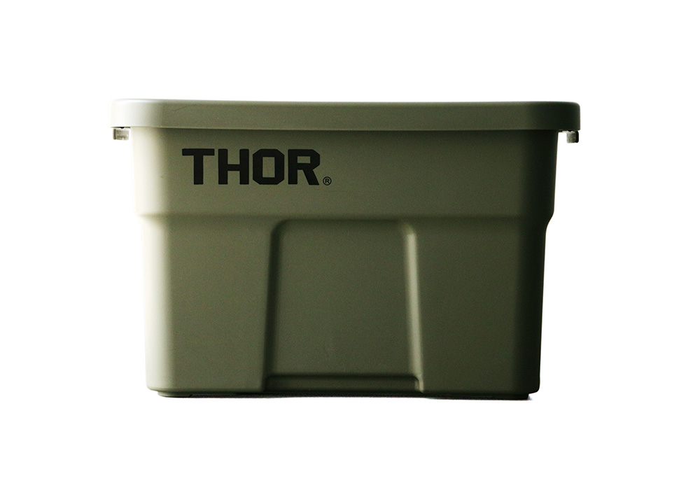 Thor Large Totes With Lid Olive drabのイメージ写真01