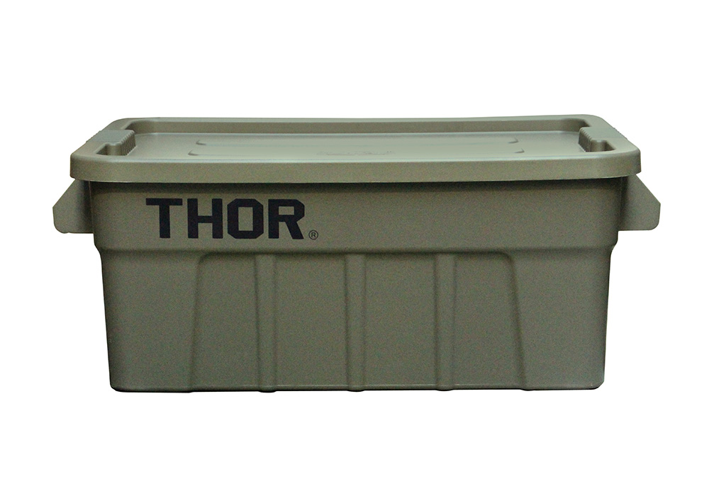 Thor Large Totes With Lid Olive drabのイメージ写真02