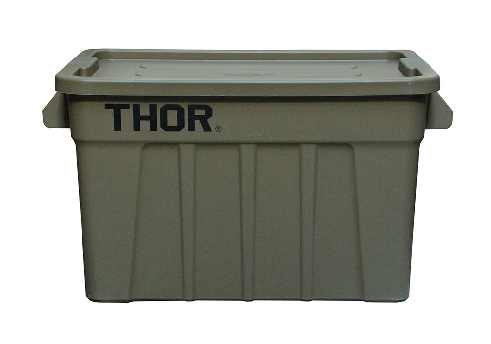 Thor Large Totes With Lid Olive drabのイメージ写真03