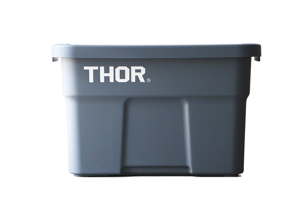 Thor Large Totes With Lid Grayのイメージ写真01