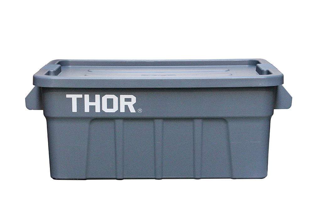 Thor Large Totes With Lid Grayのイメージ写真02