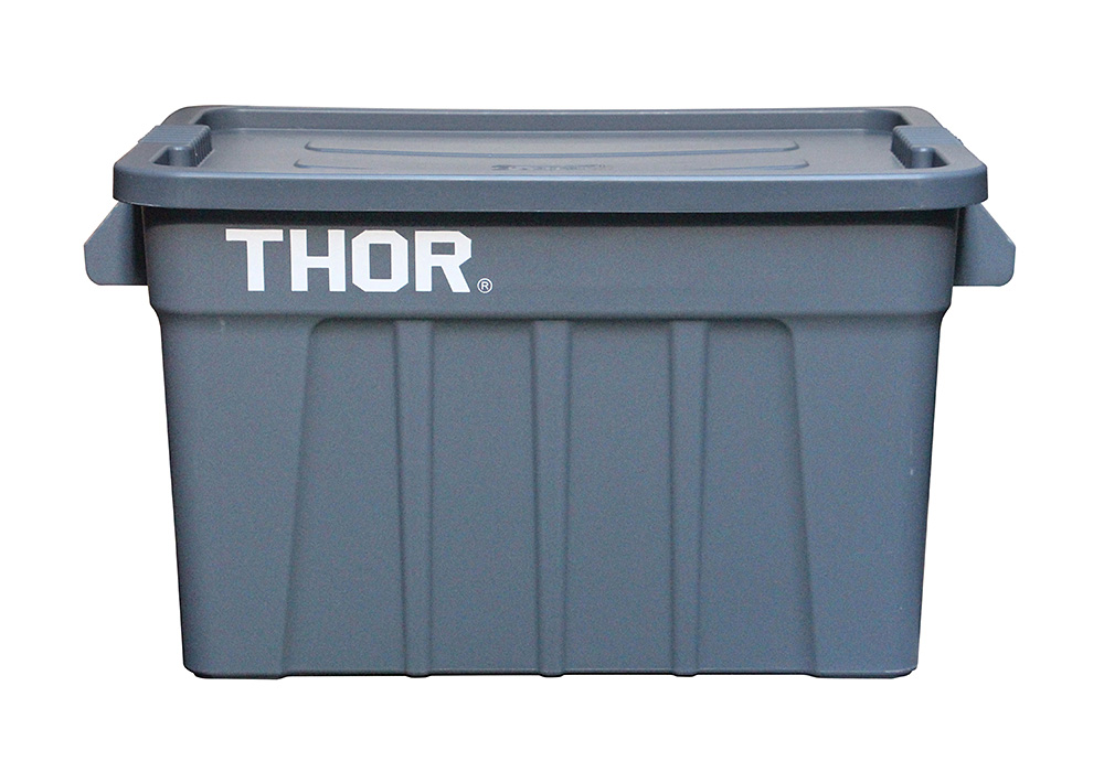 Thor Large Totes With Lid Grayのイメージ写真03