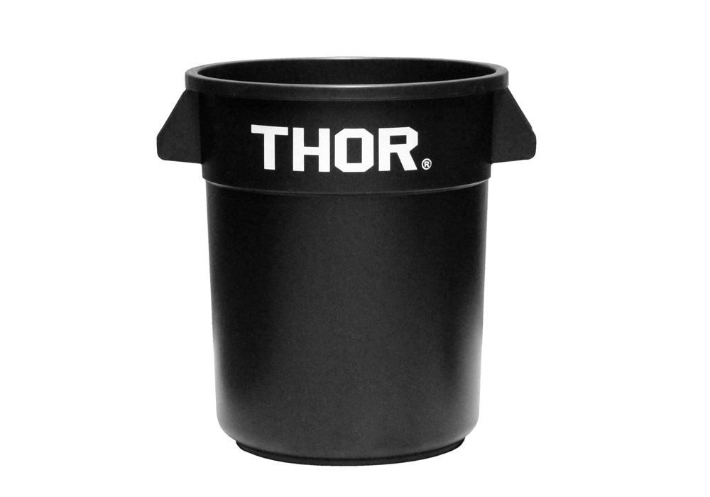 Thor Round Container Blackのイメージ写真01