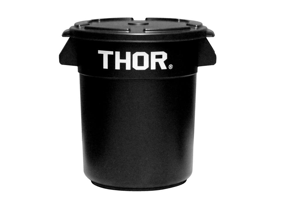 Thor Round Container Blackのイメージ写真02