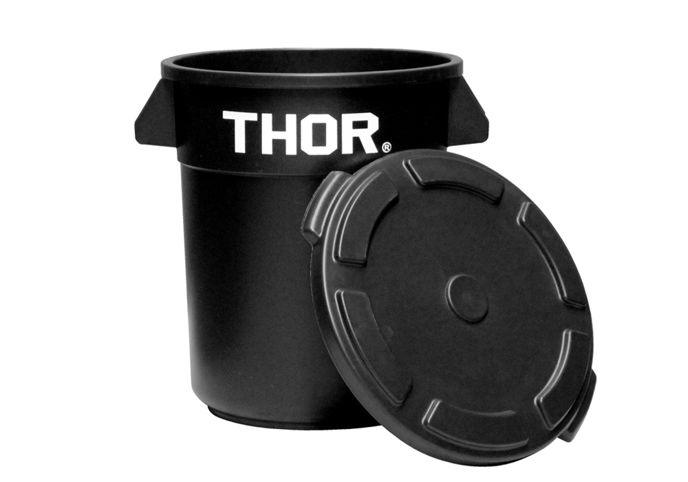 Thor Round Container Blackのイメージ写真03