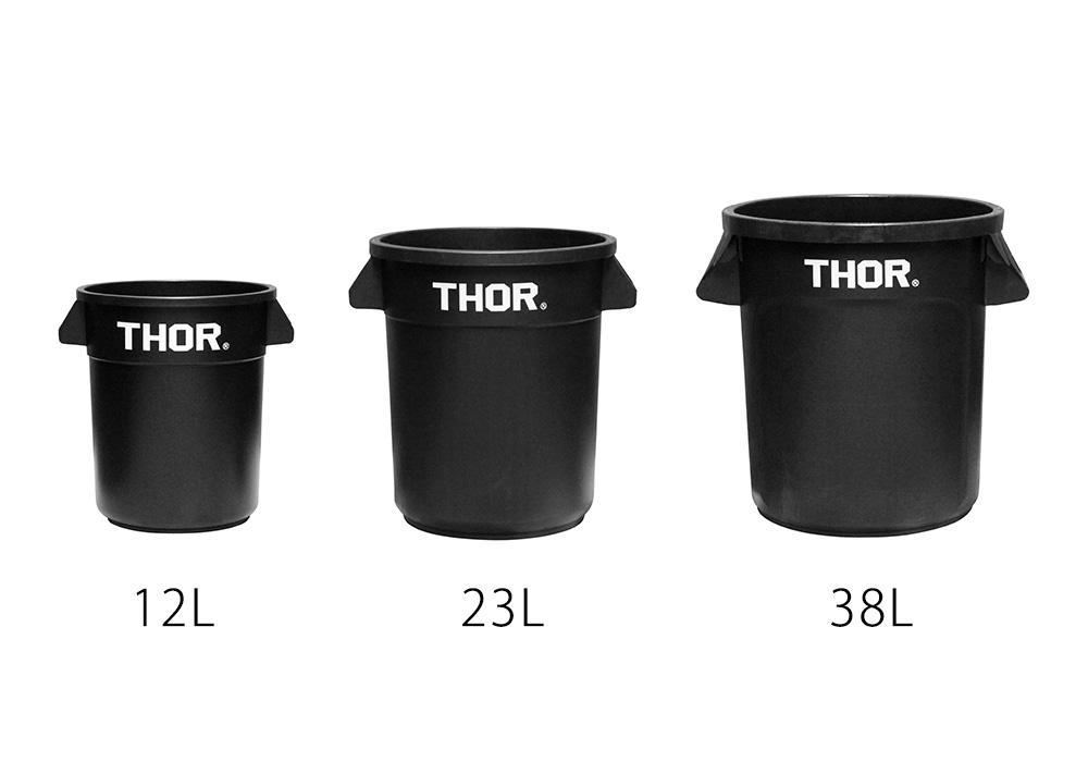 Thor Round Container Blackのイメージ写真04