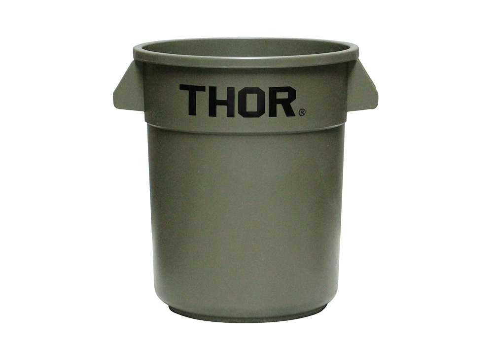 Thor Round Container Olive drabのイメージ写真01