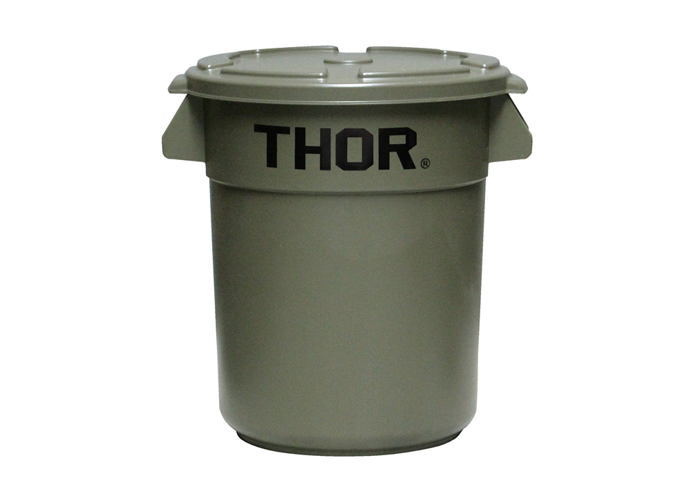 Thor Round Container Olive drabのイメージ写真02