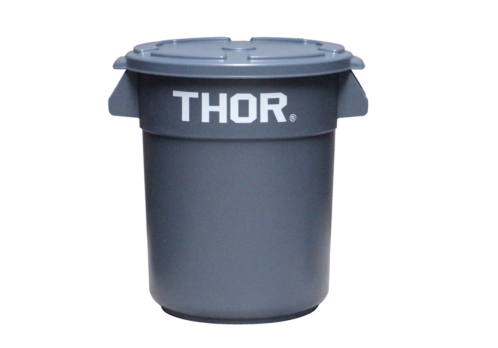 Thor Round Container Grayのイメージ写真02