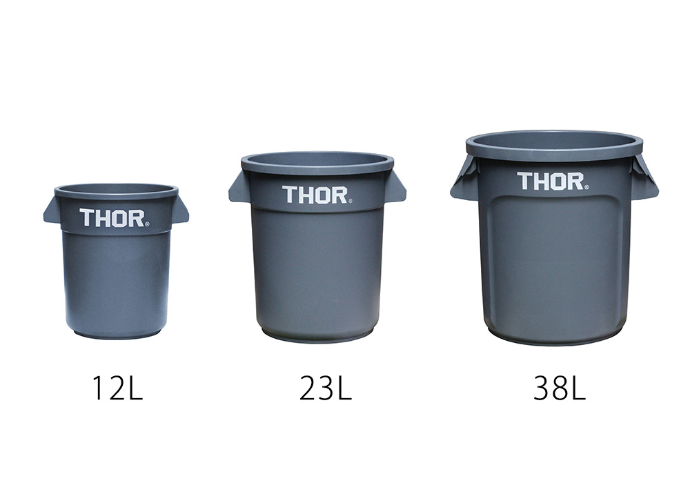Thor Round Container Grayのイメージ写真03