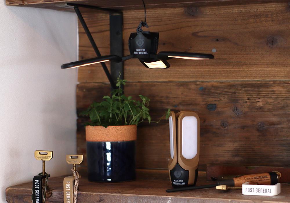 TRI-PANEL SOLAR CHARGED LED LIGHT(トリ-パネル ソーラーチャージド エルイーディーライト)のイメージ写真03