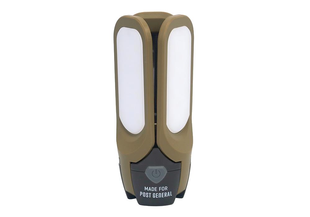 TRI-PANEL SOLAR CHARGED LED LIGHT(トリ-パネル ソーラーチャージド エルイーディーライト)OLIVEのイメージ写真01