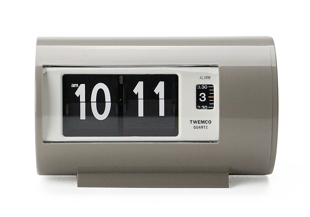 Twemco Alarm Clock #AP-28 Gray